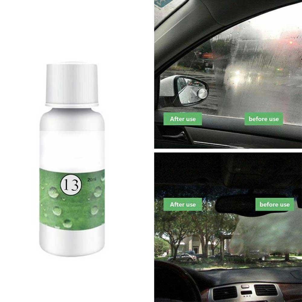 Auto Car Accessories Polishing Headlight Agent Bright White Headlight Repair Lamp Cleaning Window Glass Cleaner 20ml HGKJ-13