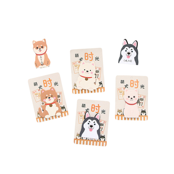 30pcs/pack Akita Dog Puppy Notes Office Novelty Planner Stickers Page Memo Pad Paper Stationery akita akita c27 page 5