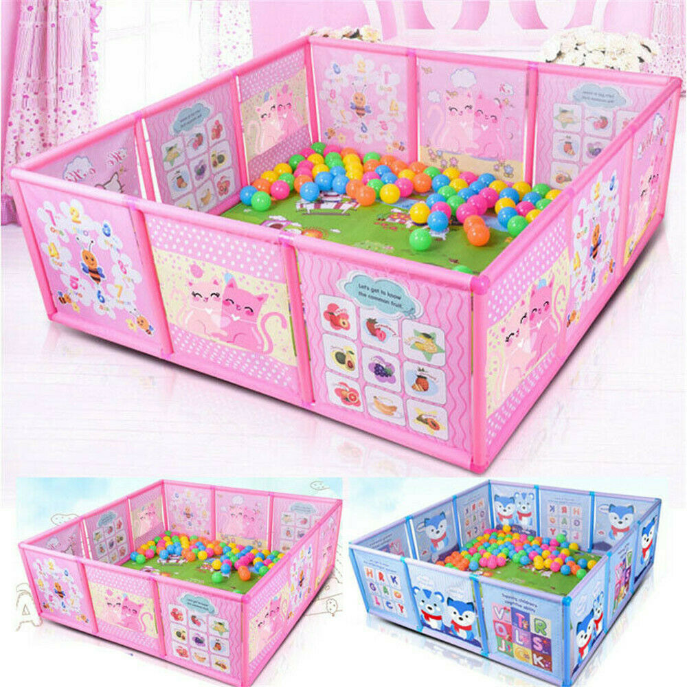 Cartoon Printed Baby Playpen Made Of High Quality Fabrics For Baby Pool Balls