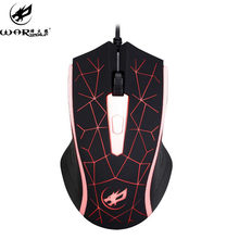 #20# Mouse Wired 2400 DPI USB Wired Optical Gaming Game Mice Mouse For PC Laptop Mouse Motospeed Computer Mouse Mouse Recargable(China)
