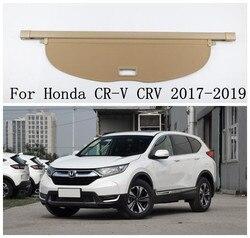 High Quality Car Rear Trunk Security Shield Trunk Cargo Cover For 17-18 Honda CR-V CRV 2017 2018 2019  ( black, beige)