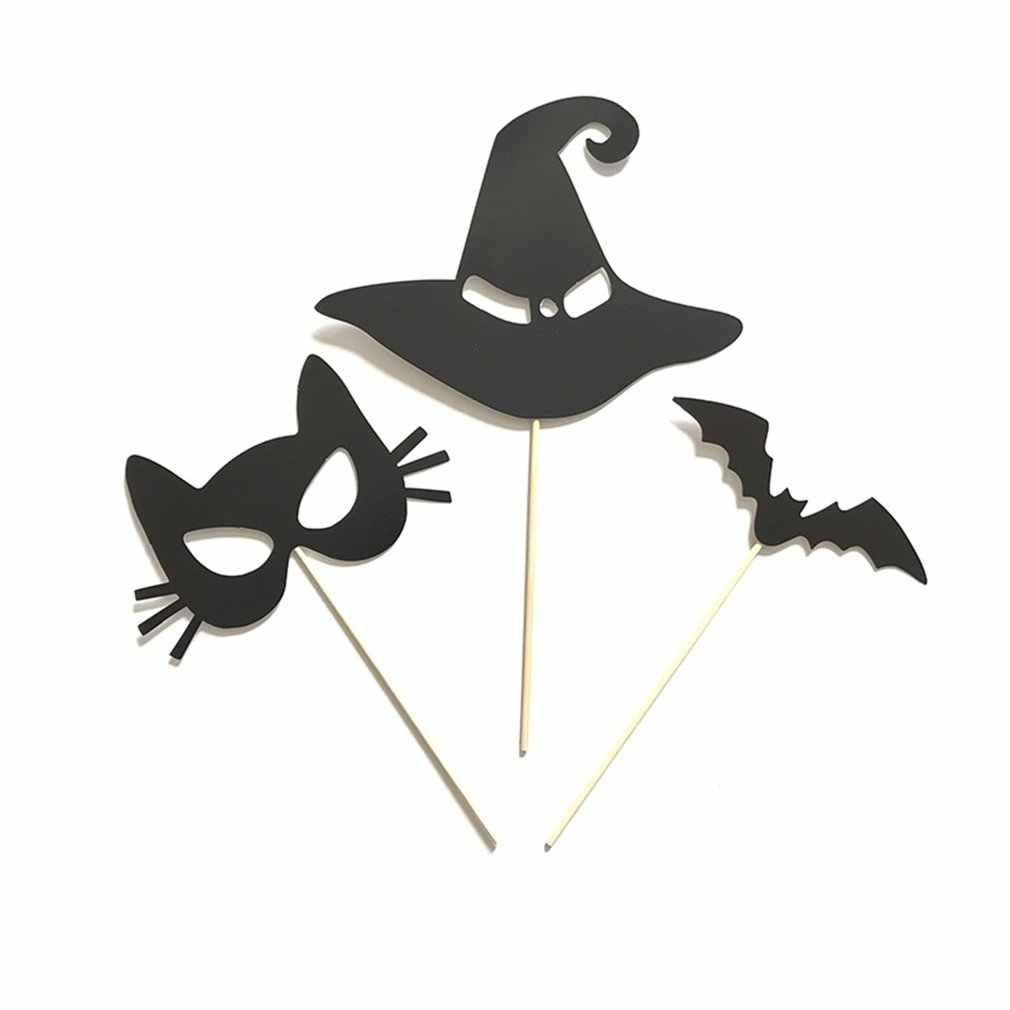 14 Stuk Halloween Set Photo Booth Props Selfie Bruiloft Vrijgezellenfeest Verjaardag