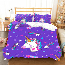 Winter Bedding Set Unicorn…