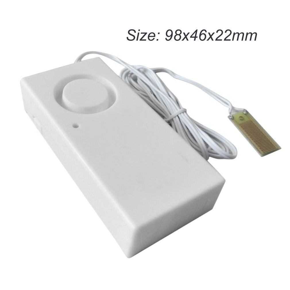 Home Alarm Water Leakage Alarm Detector 110dB Independent Water Leak Sensor Detection Flood Alert Overflow Security Alarm System