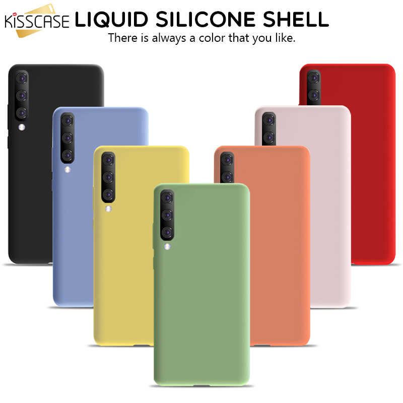 KISSCASE Soft Silicone Case For Samsung A51 Cover A50 A71 A70 S8 S20 S9 A81 A91A20E A30 S20 Plus Cases For Samsung S10 Fundas