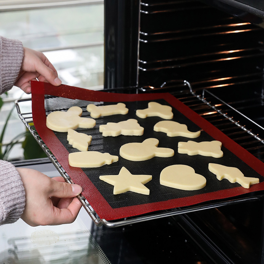 Non-Stick Perforated Silicone Baking Mat Oven Sheet Liner Tool For Cookie /Bread/ Macaroon/Biscuit Kitchen Bakeware Accessories