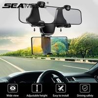 Soporte Universal para espejo retrovisor de coche, soporte para teléfono inteligente de 4 a 7 pulgadas, accesorios de Interior de coche