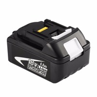 Znter New Portable 18V Rechargeable Battery 6AH 6000mAh Li Ion Battery Replacement Power Tool Battery for MAKITA BL1860