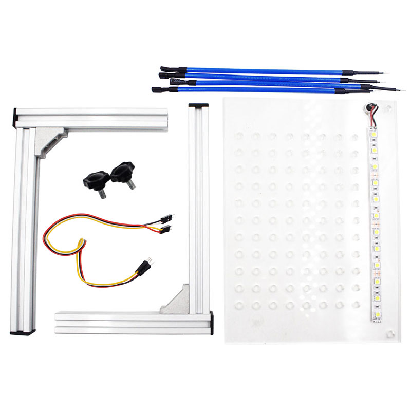 2020 New Set of LED BDM Framework ECU Programming Tools BDM Bracket with LED Lamp 4 Probe Pens for Ktag KESS V2 Galletto BDM100