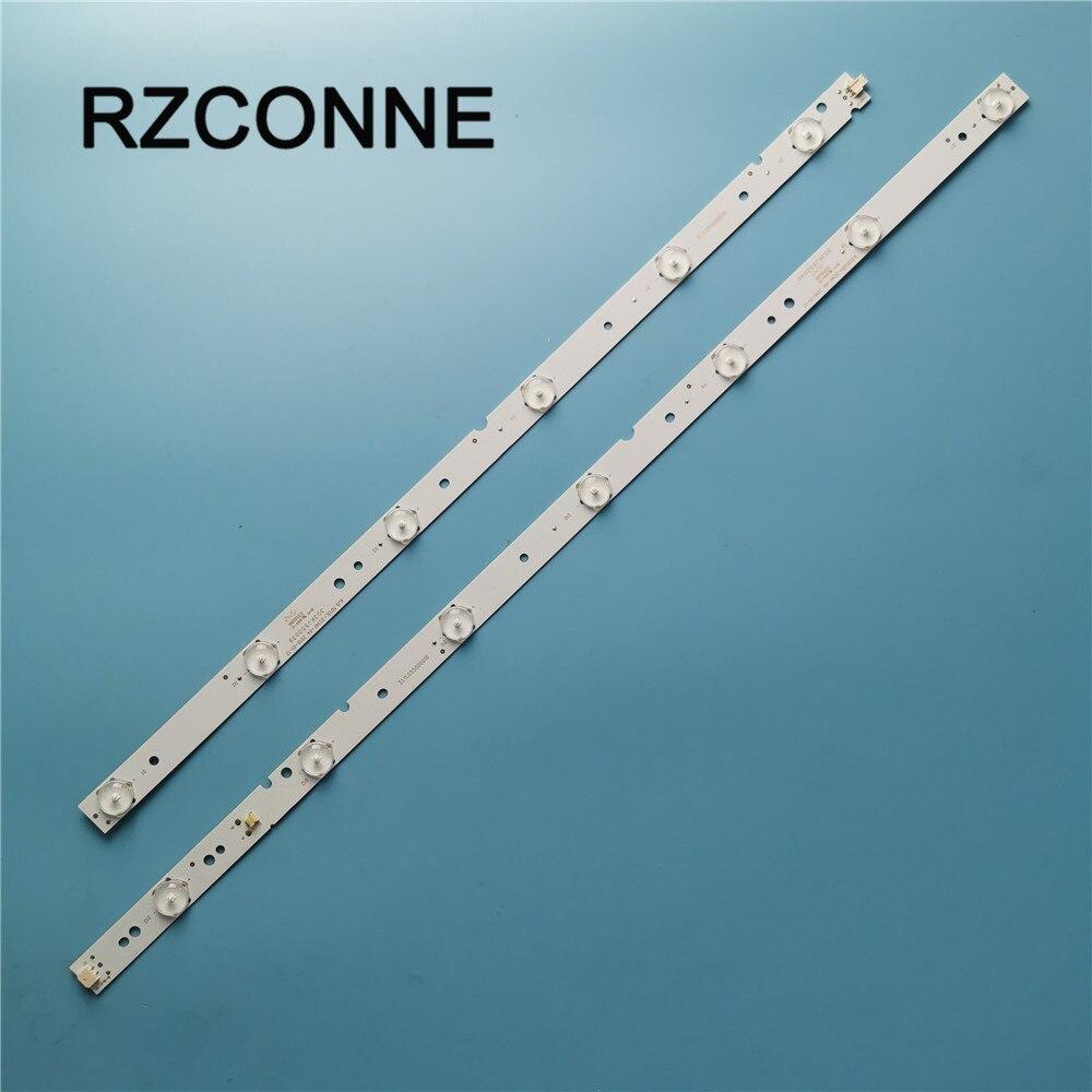 2pcs/lot LED Backlight Lamps Strips For LE55H KJ55D13L/KJ55D13R-ZC14F-04 303KJ550039/40