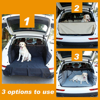 Waterproof Pet Dog Car Seat Cover Mat Foldable Cargo Liner SUV Cat Dog Trunk Covers Luxury Outdoor Travel S for Dog