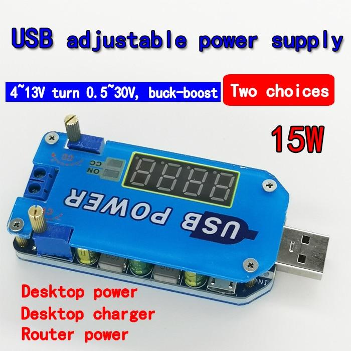 DC-DC 3V~24V to 3.3v 5v 12v 24v 2A Step-up Power Supply Module Micro USB Booster