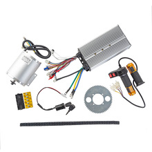 Motor-Kit Electric 72v 3000w Brushless 50A Ignition-Lock Reverse-Twist-Throttle-Power
