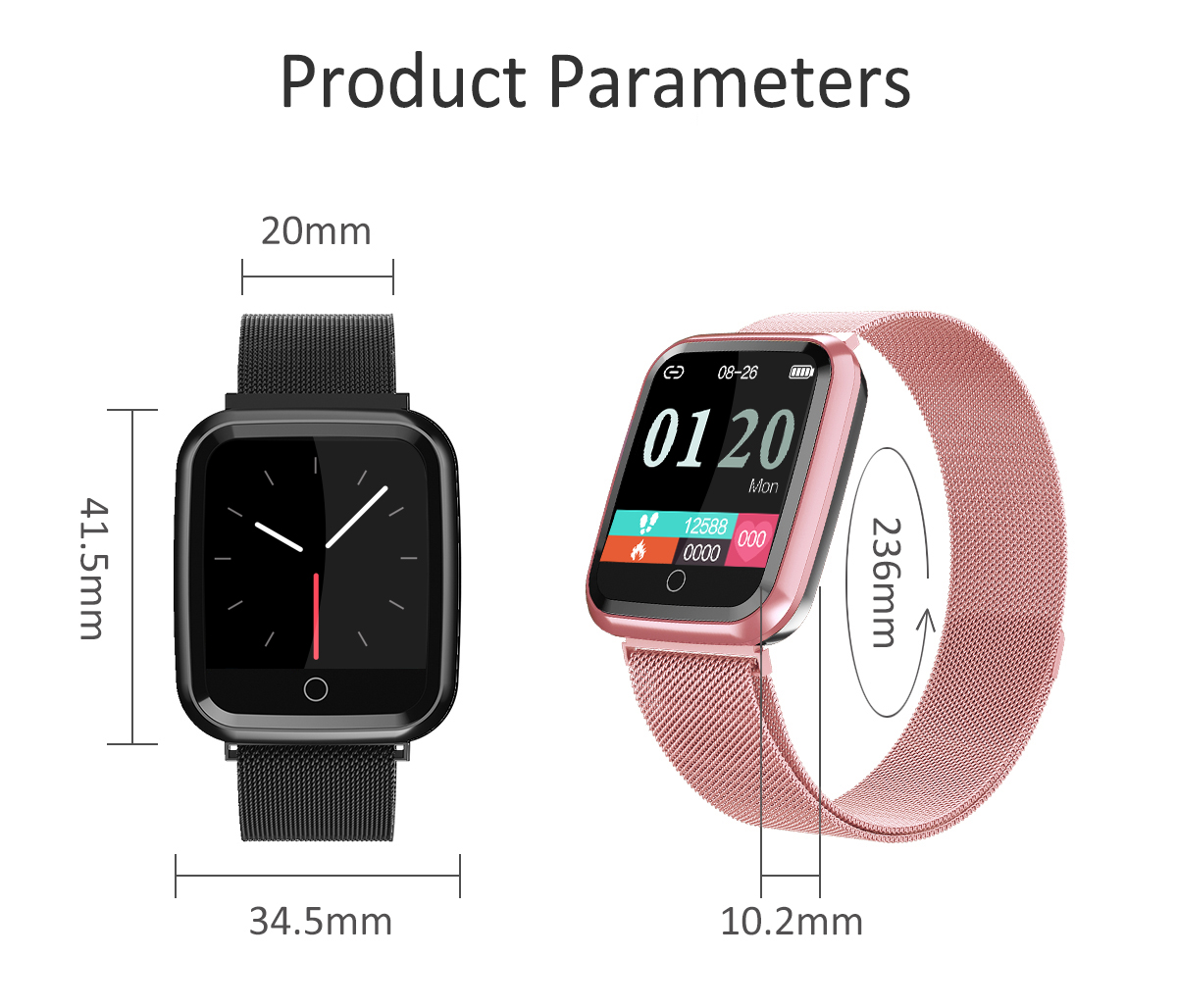 DAROBO N99 Sport and Heart rate monitor Smart watch with Waterproof Blood pressure monitor for men women available in Android IOS 17