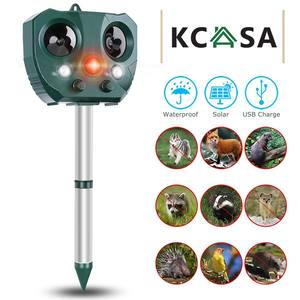 Solar Ultrasonic Animal Repell