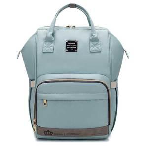 Image 5 - Рюкзак для мам LEQUEEN, модная Вместительная дорожная сумка для подгузников, дизайнерский, для ухода за детьми