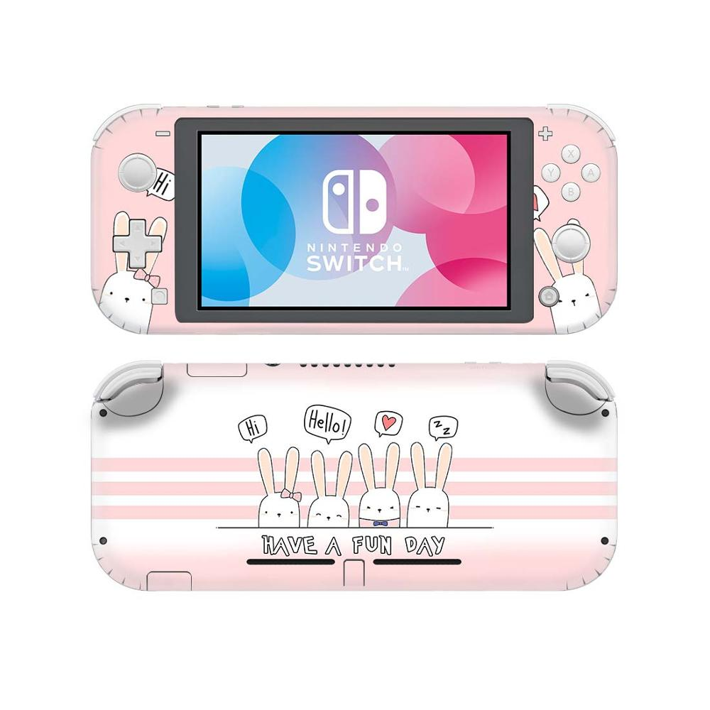 Kawaii Rabbit Bunny NintendoSwitch Skin Sticker Decal Cover For Nintendo Switch Lite Protector Nintend Switch Lite Skin Sticker