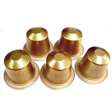 Coffee-Capsules-Cup Disposable for Nestle Automatic Supplies-Gold 100sets