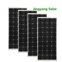 Glass Solar panel 100W 200W 300W 400W Monocrystalline Solar cell 12V solar battery charger for 1000w home solar kits
