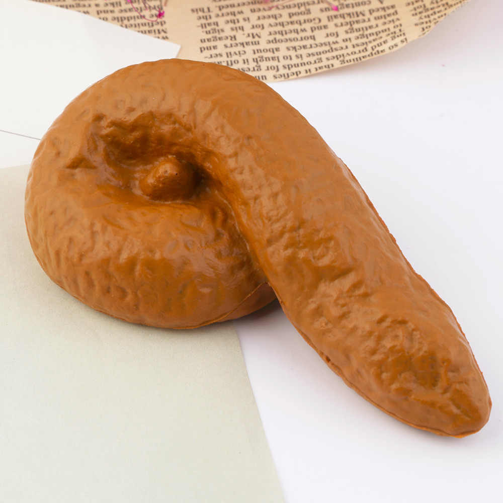 Hot! Prank Fake Poop Turd Crap Poo Gross Joke Dirty Trick Novelty Human Fun Pooper New Sale