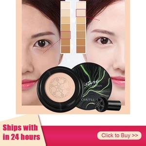 1pcs Air Cushion Mushroom Head CC Cream Concealer Foundation Make Up Moisturizing Whitening Makeup Maquiagem Cosmetics TSLM1
