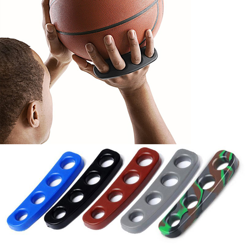 3pcs Silicone Gesticulation Shot Lock Basketball Ball Shooting Trainer Training Accessories Curry Three-Point Shot Size S/M/L