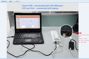 Image 2 - Stokta var! COMFAST uzun menzilli 5KM açık kablosuz erişim noktası yönlendirici Wi fi köprüsü 300Mbps 5Ghz WIFI CPE 2 * 14dBi WI FI anten Nanostation