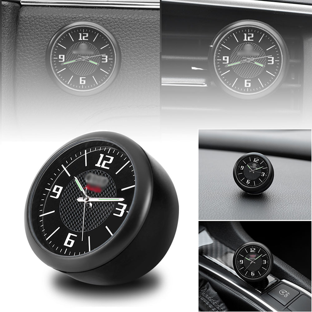 Car Clock Watch Modified Car Interior Electronic Quartz Watch Car Decoration with logo For Honda BMW Benz VW Audi Nissan