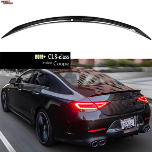 CLS53 Style Carbon Fiber Rear Spoiler for Mercedes 2019+ CLS Class C257 4-door Coupe, Fitment Guaranteed