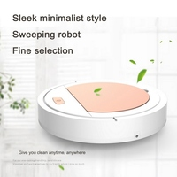 Rechargeable Robot Vacuum Cleaner Automatic Obstacle Avoidance USB Charging Dustproof Household Vacuum Cleaner Cleaning Robot