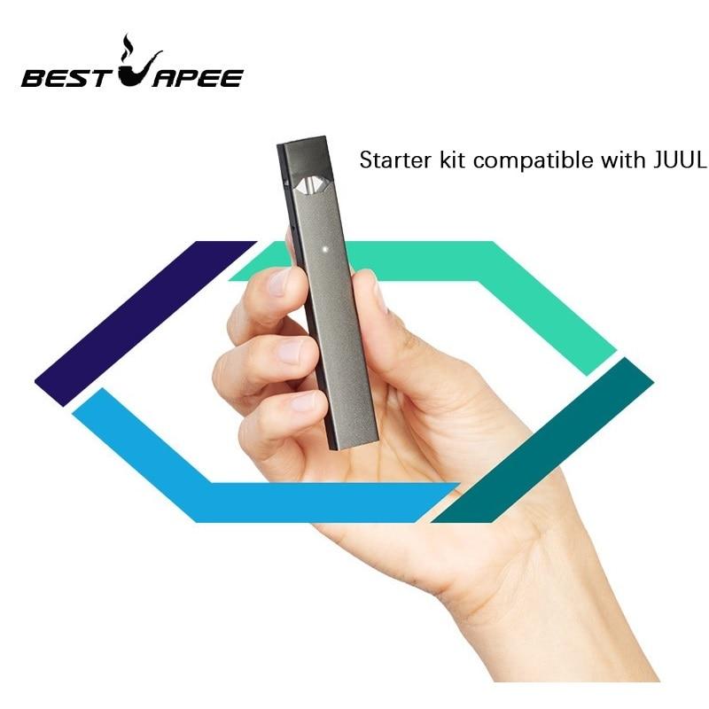 Tank Gift 1.0ml Starter Kit Portable Device Built-in 350mAh Battery LED Power Indicating Pod System Vape Pen Kit VS W01 Juulkit
