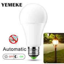 AC220V 110V E27 Dusk to Dawn Light Bulb 10W 15W LED Sensor Bulb IP44 Outdoor  Day Night Light Smart Auto on/Off Lamp  Home Light sensor light bulb dusk to dawn led smart lighting bulbs 7w 12w e27 b22 automatic on off indoor outdoor yard garage garden