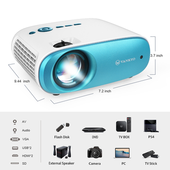 Мини-проектор VANKYO Cinema ango C100 3