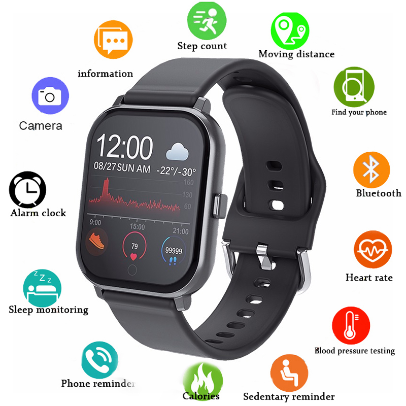 Global Version Smart Watch Waterproof Smart bracelet Heart rate monitor Blood Pressure monitor Smartwatch For Xiaomi For IOS