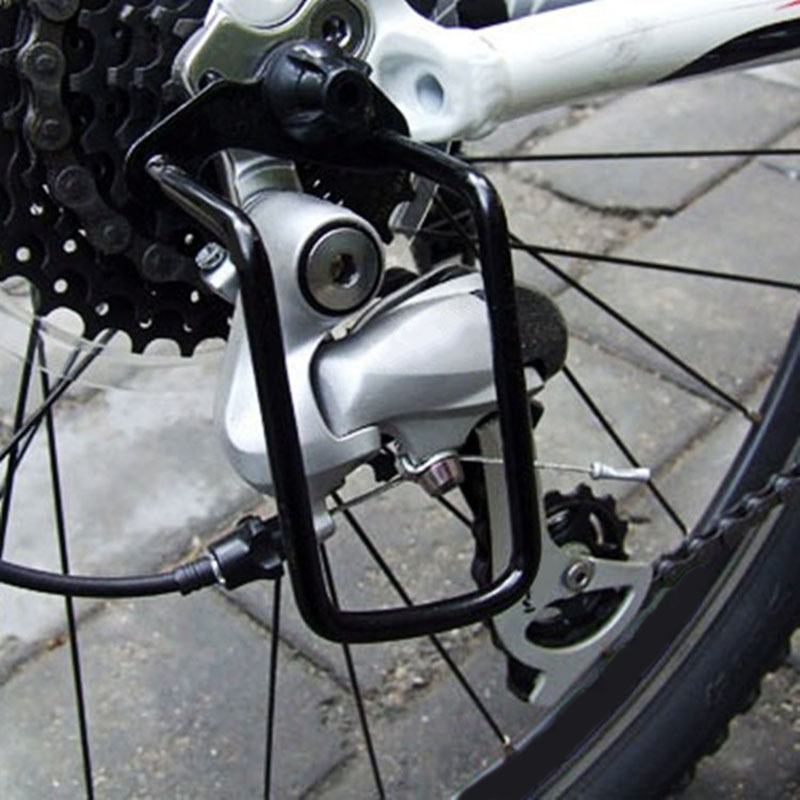 Bicycle Rear Derailleur Protector Mountain Bike Rear Dial Protector Transmission Protection Bike Accessories Support Dial Guard