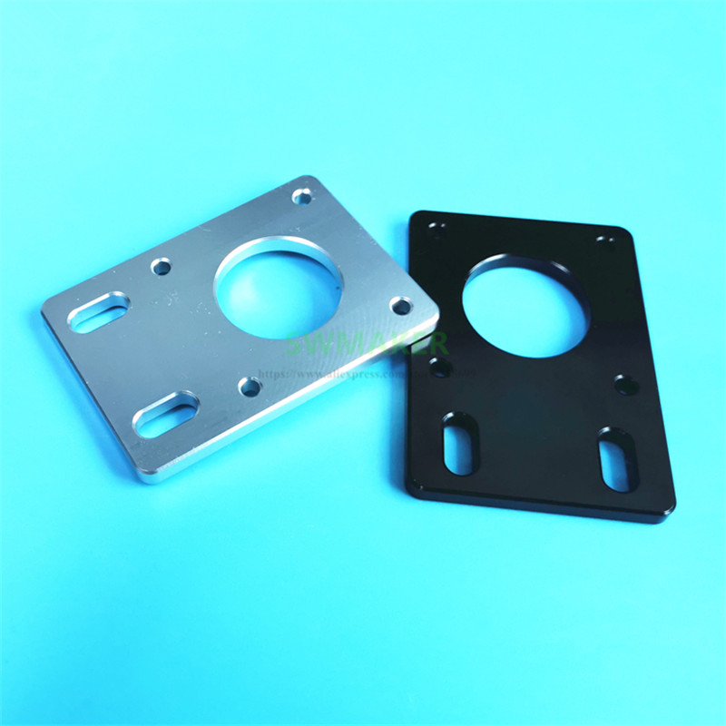 NEMA 17 Stepper Motor Mounting Plate Fixed Plate Bracket Space Adjustable For D-bot Core-XY 3D Printer CNC Parts 2020 Profiles