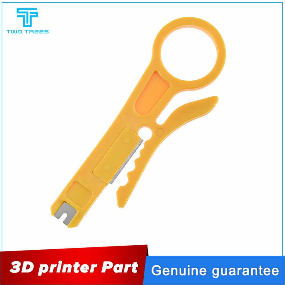 Mini Portable Kawat Stripper Pisau PTFE Tube Cutter untuk 3d Printer Teflonto Tabung Hotend I3 MK8 Extruder Kit Alat