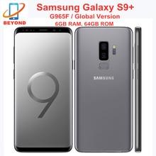 Samsung Galaxy S9 + S9 плюс G965F 6GB оперативной памяти, 64 Гб встроенной памяти глобальная версия Octa Core 6,2