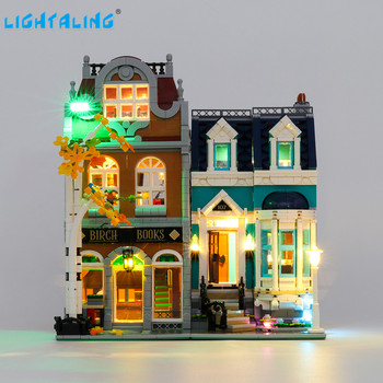 Lightaling Led Light Kit For Creator Bookshop Toys Building Blocks Compatible With 10270 ( Lighting Set Only ) lightaling led light set for famous brand 10182 15002 make
