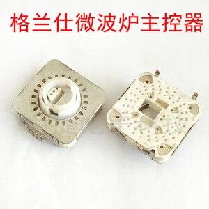 Image 2 - [BELLA] kuchenka mikrofalowa główny kontroler kwadratowy przełącznik pasowy 24 bieg nieskończenie obrotowy kodowanie potencjometr stary zapas