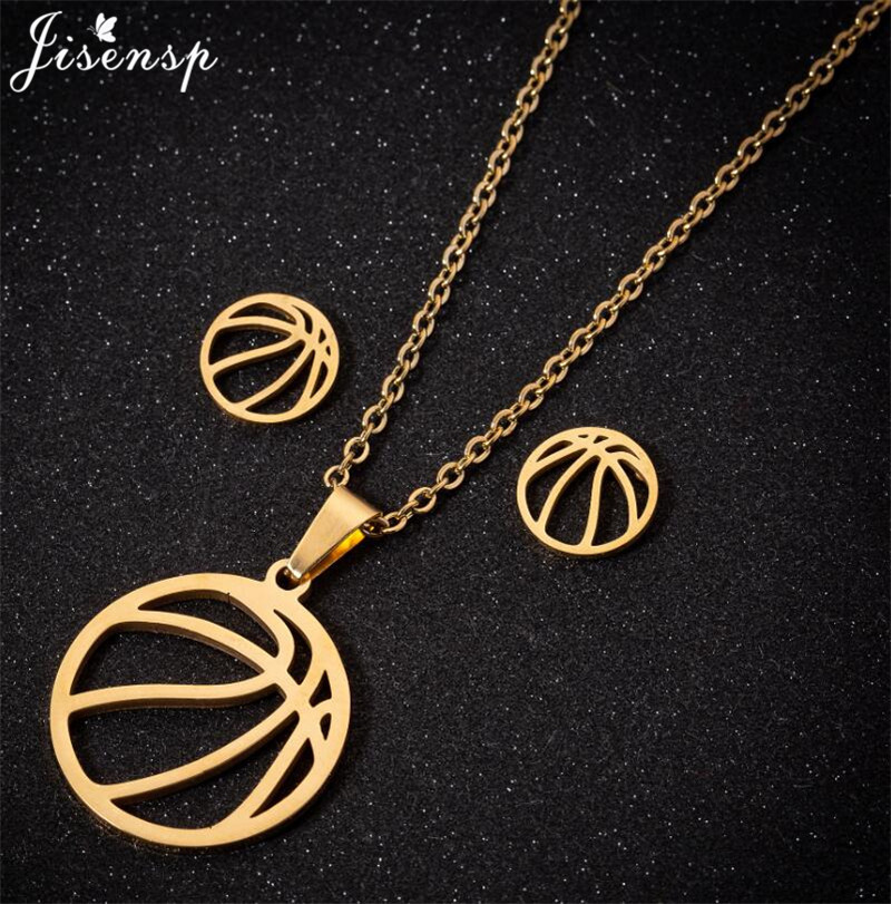 Stainless Steel Volleyball Necklaces
