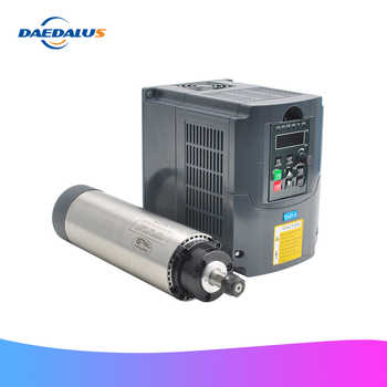 Spindle Motor 1.5KW 220V Air Cooled Machine Tool Spindle 65MM Milling Motor 1500W VFD Converter Speed Control Inverter - DISCOUNT ITEM  39% OFF All Category