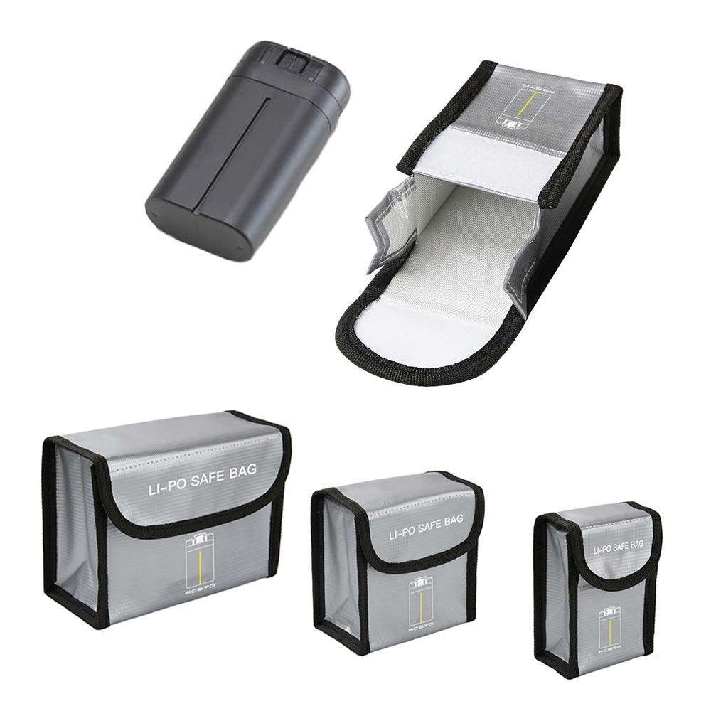 Mavic Mini Battery Package 1/23 Battery Pack Protective Storage Bag Safe Bag Explosion-Proof Case For DJI Mavic Mini Accessories