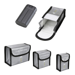 Image 1 - Mavic Mini Battery Package 1/23 Battery Pack Protective Storage Bag Safe Bag Explosion Proof Case for DJI Mavic Mini Accessories