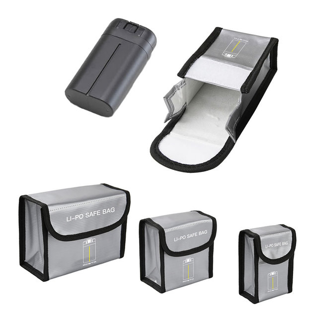 Mavic Mini Battery Package 1/23 Battery Pack Protective Storage Bag Safe Bag Explosion Proof Case for DJI Mavic Mini Accessories
