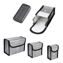 Mavic Mini paquet de batterie 1/23 paquet de batterie sac de rangement de protection sac sûr étui anti déflagrant pour DJI Mavic Mini accessoires