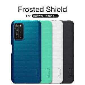 Dla Huawei Honor X10 skrzynki pokrywa NILLKIN dopasowane obudowy dla Huawei Honor X10 wysokiej jakości Super matowa tarcza