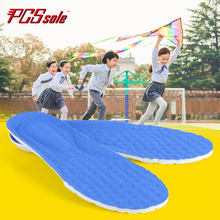 PCSSOLE orthopedic sponge children insoles support flat shock absorption breathable non-slip foot care