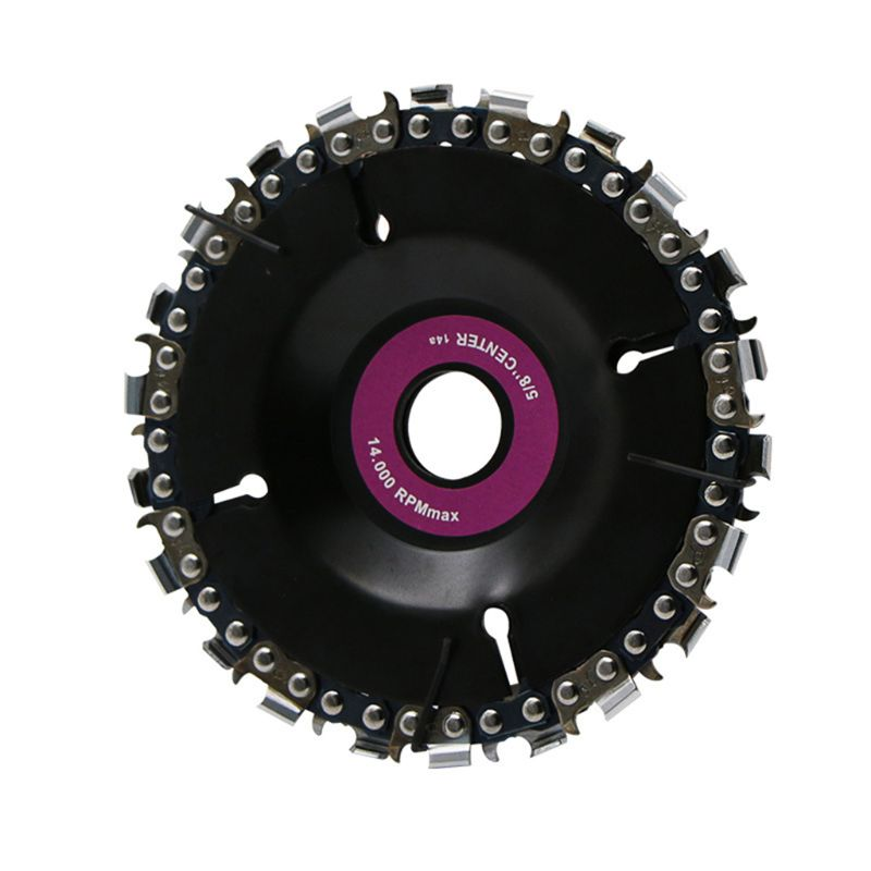 Angle Grinding Disc Chain Saw Blade 4 Inch 14 Tooth Finish Cutting Engraving Sharping Wood Plastic Hard Rubber 40JE