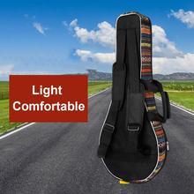 Сумка для мандолины, рюкзак, чехол, уплотненный хлопок, портативная двойная сумка для мандолины, аксессуары для музыкальных инструментов, мягкая губка